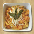 Roasted Squash, Sage and Goat Cheese Pasta