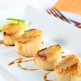 Lime and Honey Marinated Asian Style Scallops